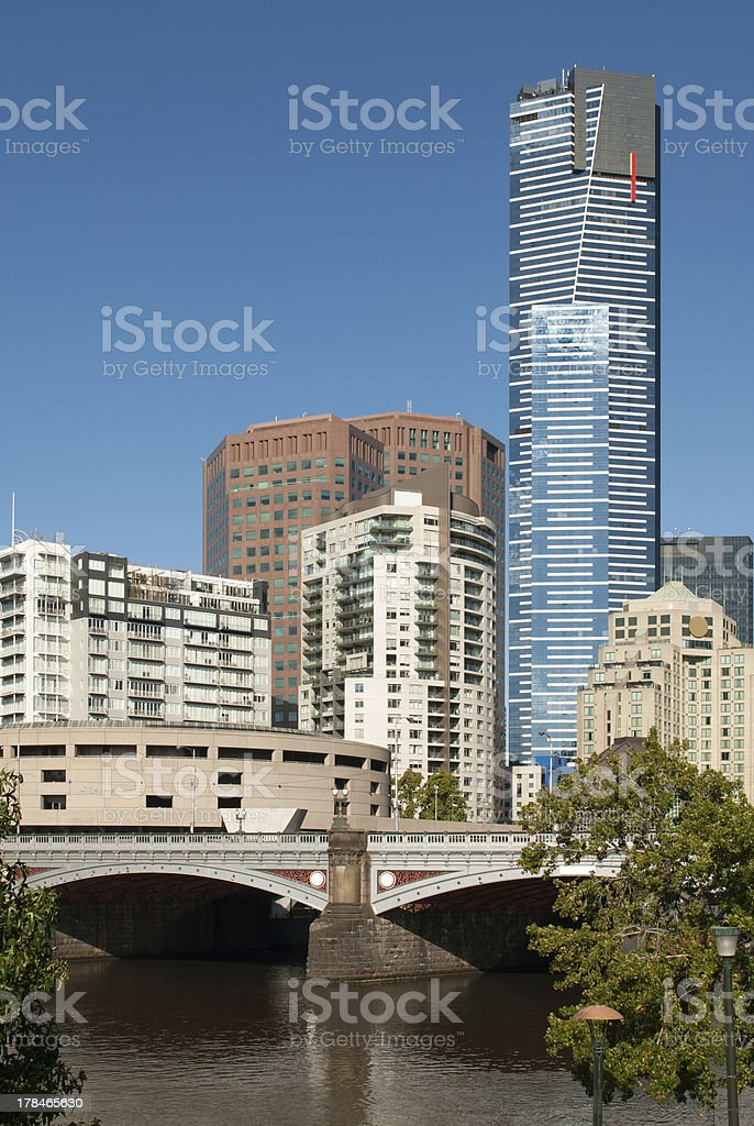 City Scene, Melbourne, Victoria, Australia royalty-free stock photo