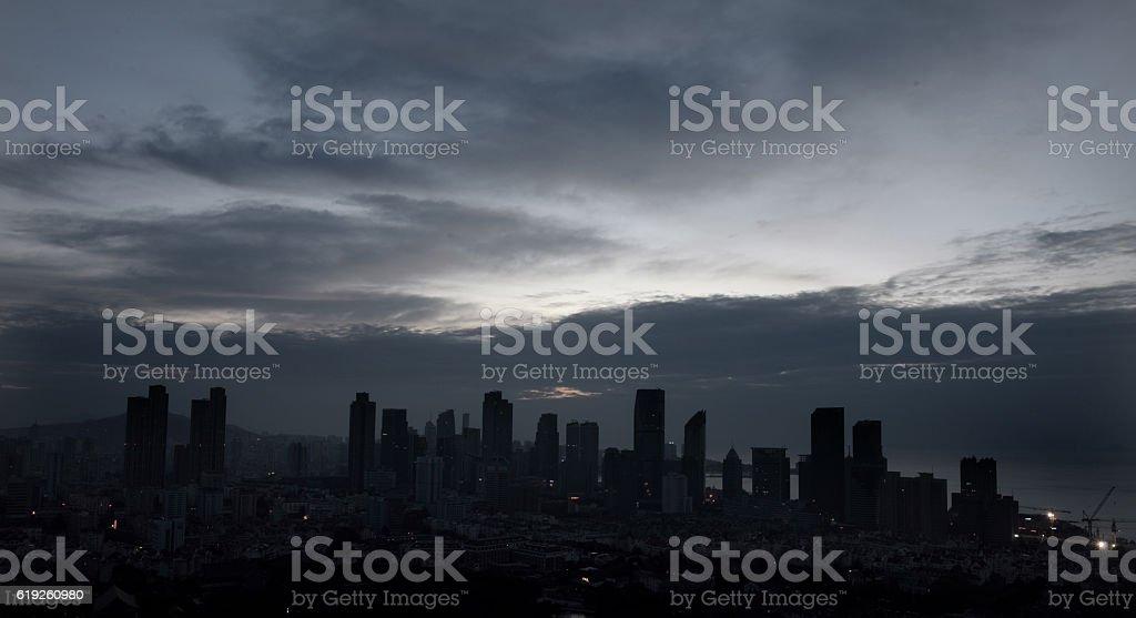 City Scenery of Qingdao China stock photo