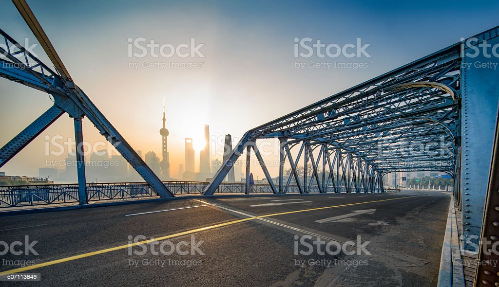 City Scenery stock photo