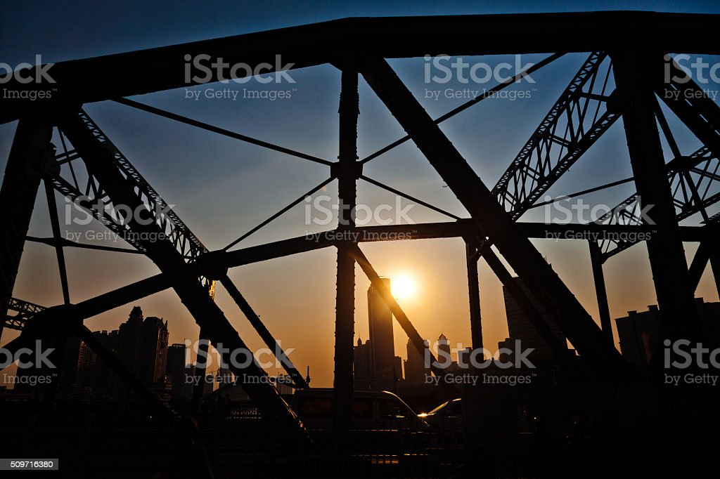 City Silhouette stock photo