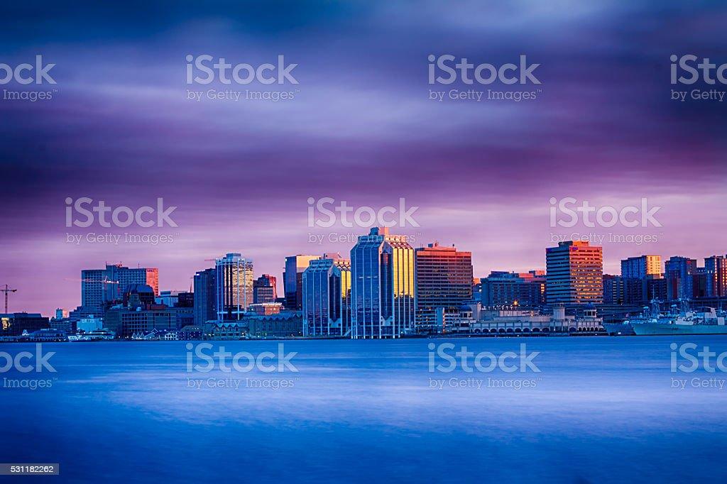 City Skyline Drama stock photo