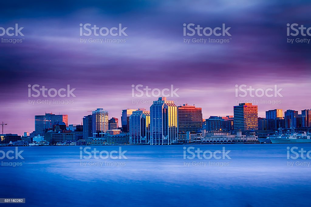 City Skyline Drama stock photo