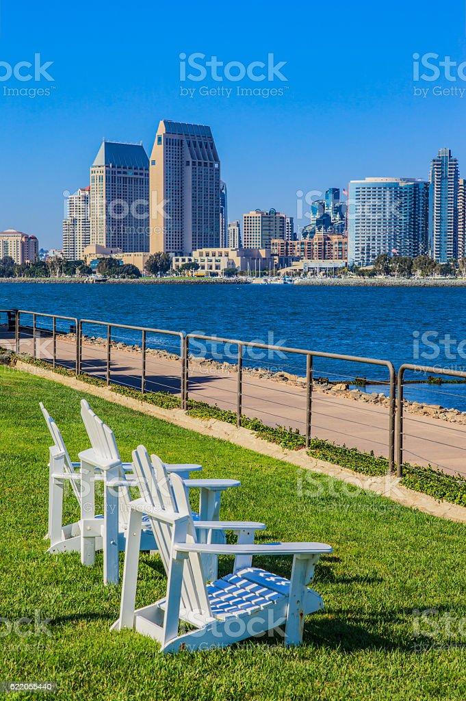 City Skyline Of San Diego, California stock photo