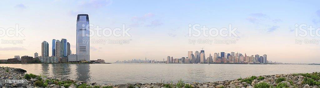 City skyline panorama royalty-free stock photo