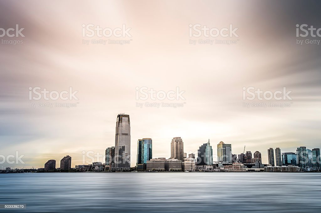 City skyline (NYC, Manhattan) stock photo