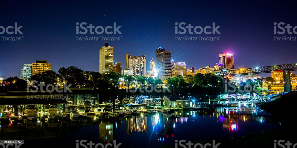 City Skyline stock photo