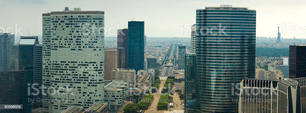 City skyscrapers, Paris royalty-free stock photo