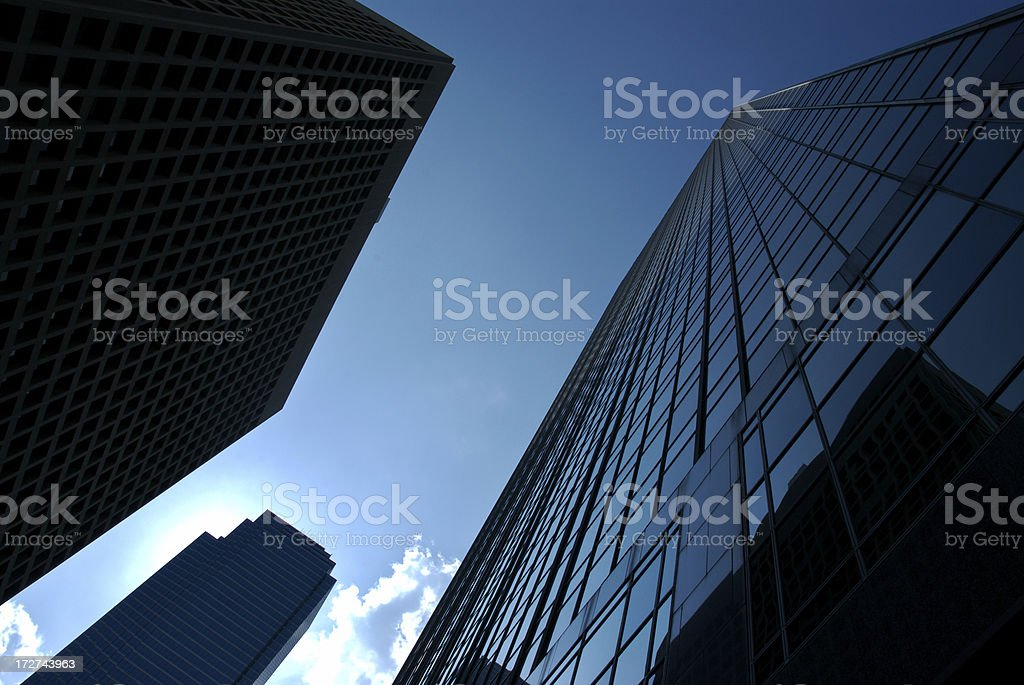 City Skyscrapers royalty-free stock photo
