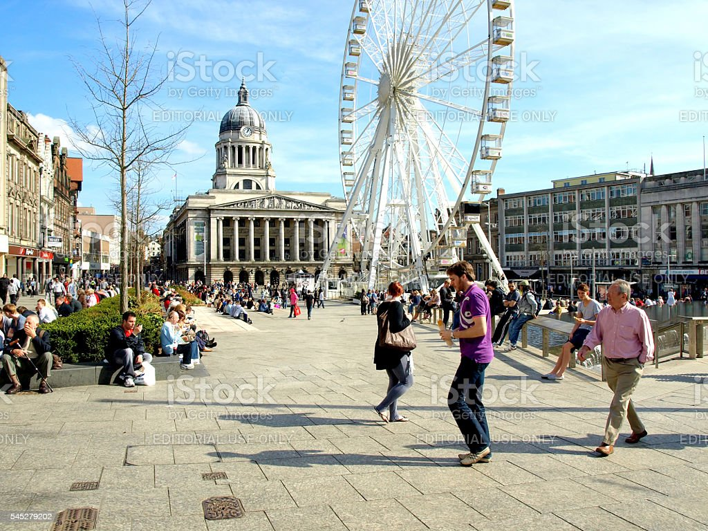 City square. stock photo