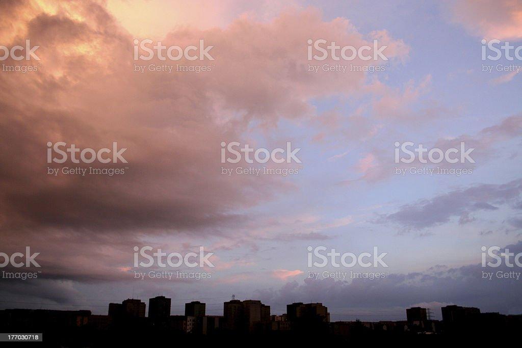 City storm 2 royalty-free stock photo