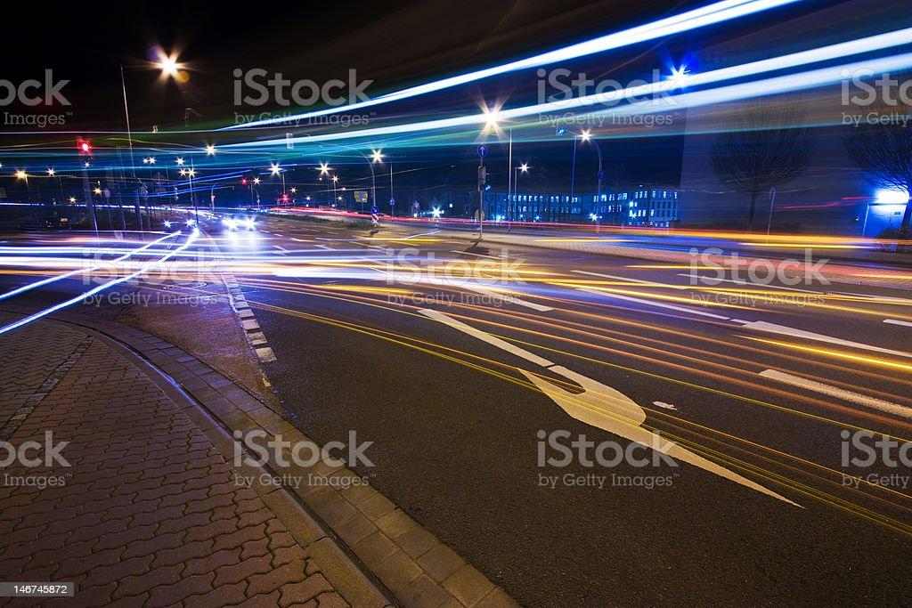 City Stream royalty-free stock photo