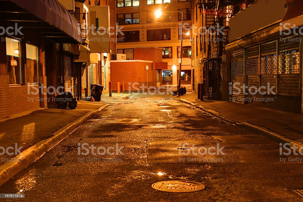 City Street royalty-free stock photo