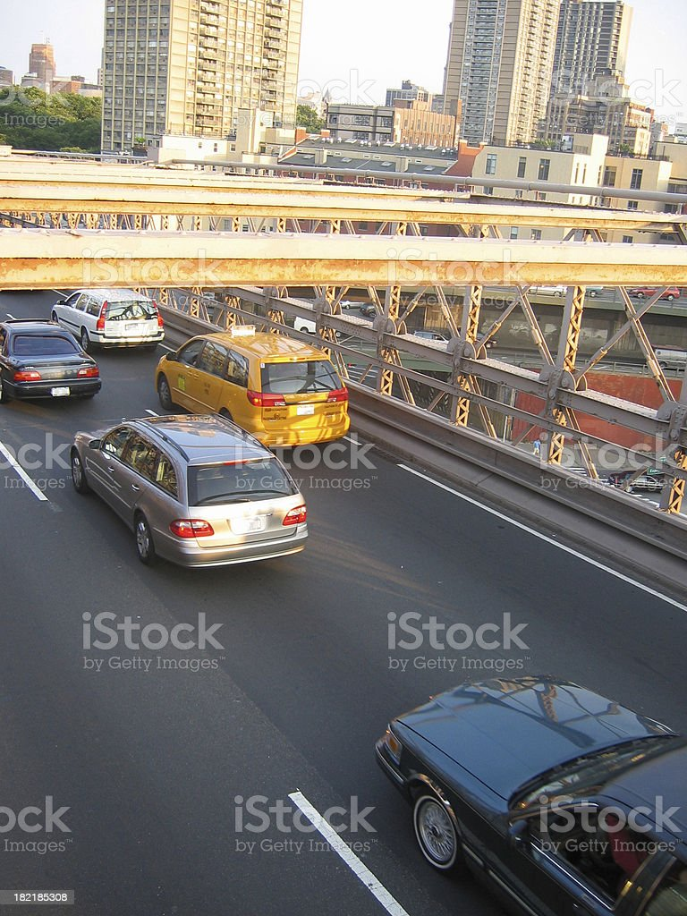 City Traffic royalty-free stock photo