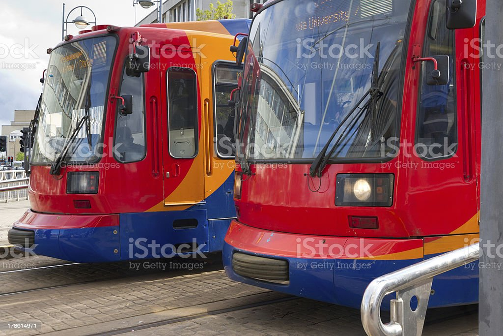 City transport stock photo