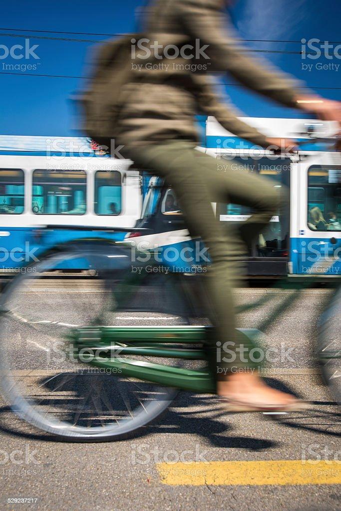 City transportation concept stock photo