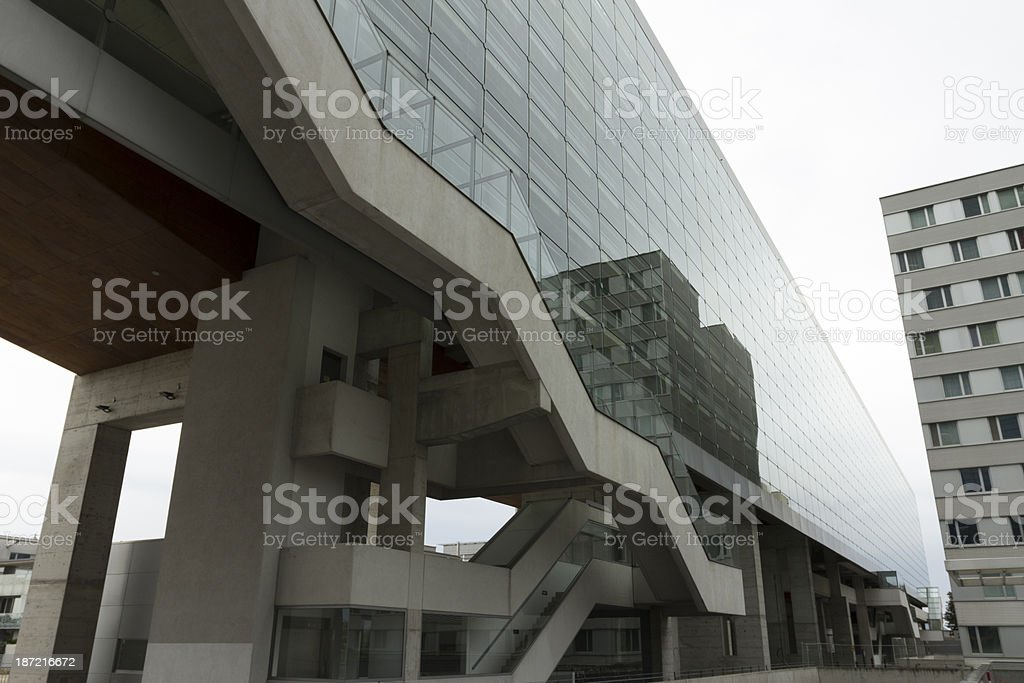 UNO city Vienna royalty-free stock photo