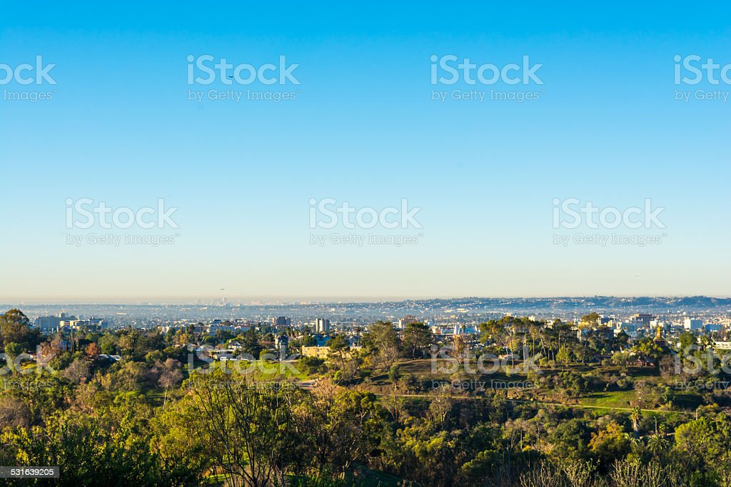 city view 4 stock photo