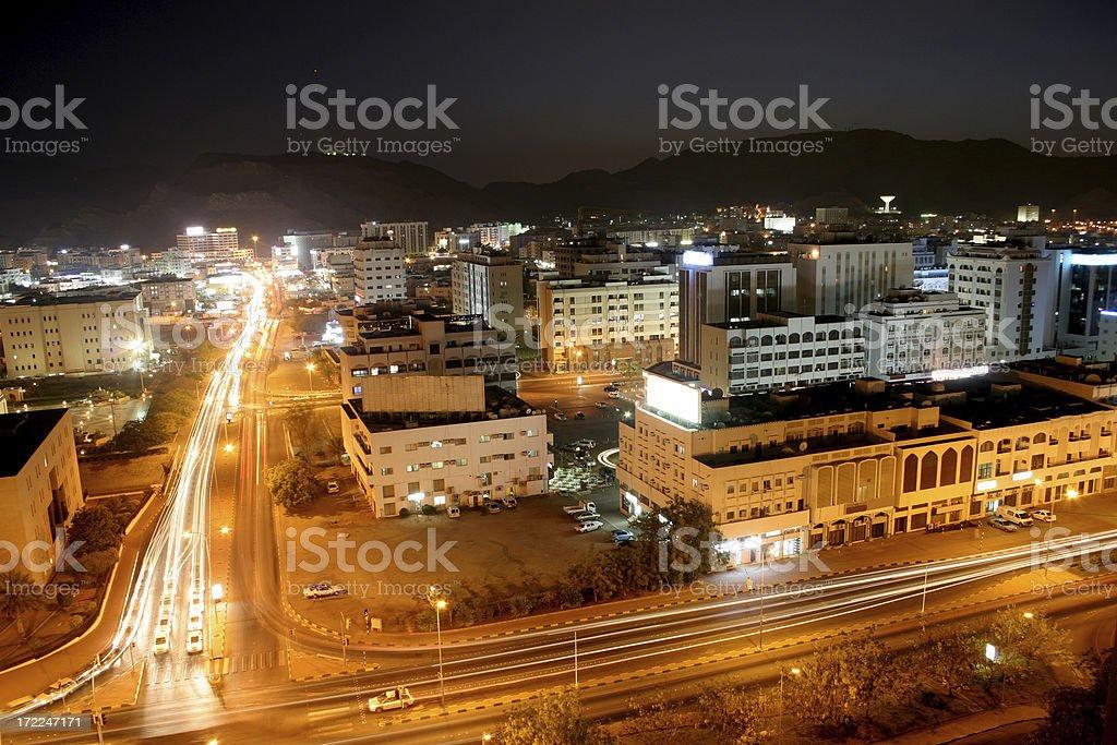 City view at Night. royalty-free stock photo