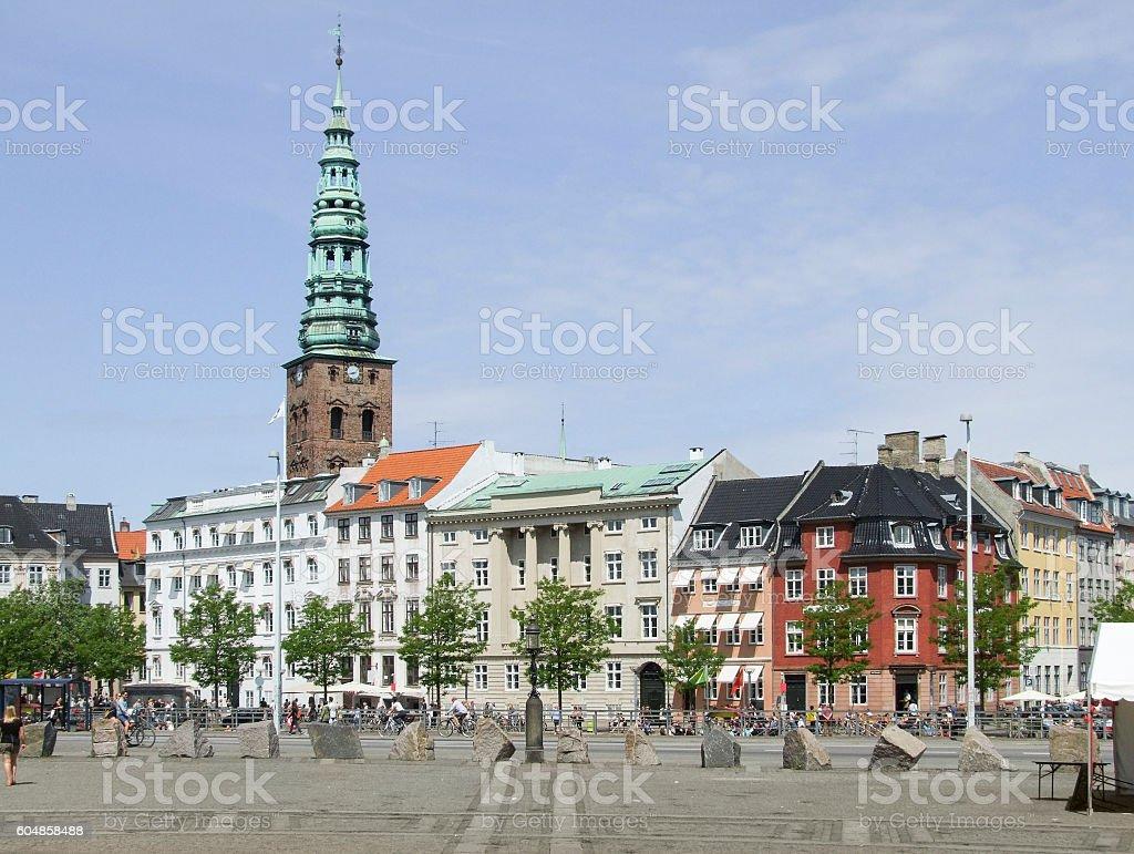 city view of Copenhagen stock photo