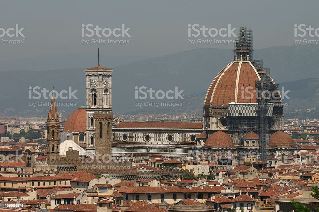City View of Florence royalty-free stock photo