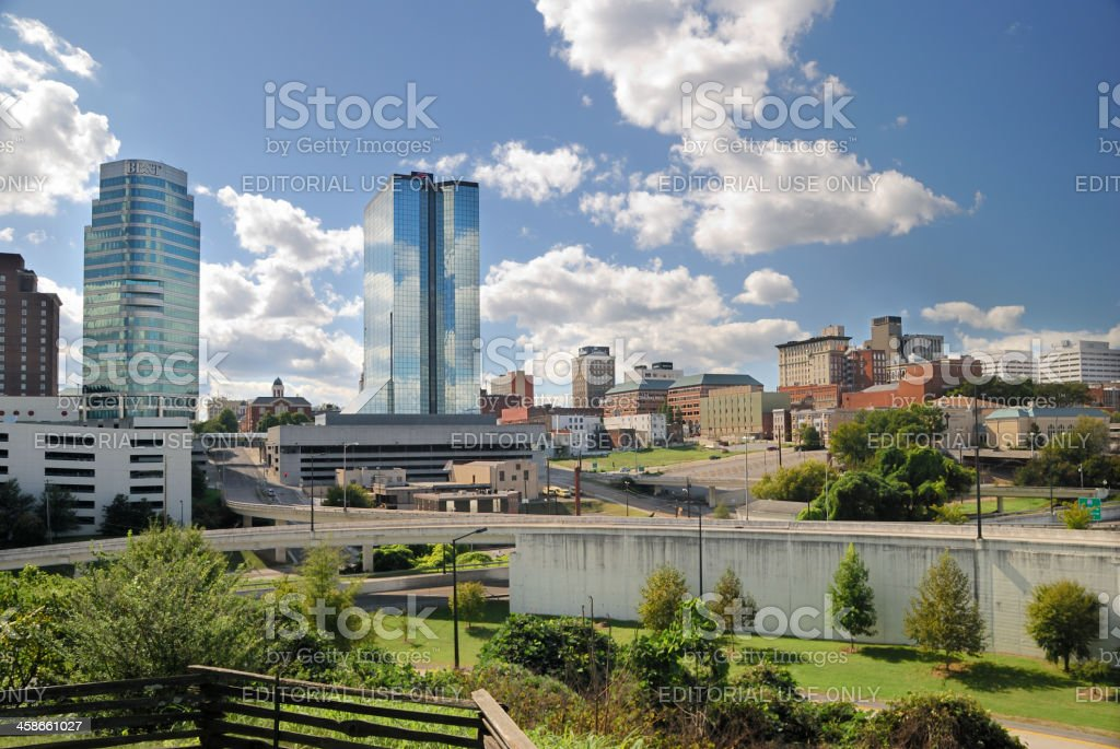 City View of Knoxville, TN USA. stock photo