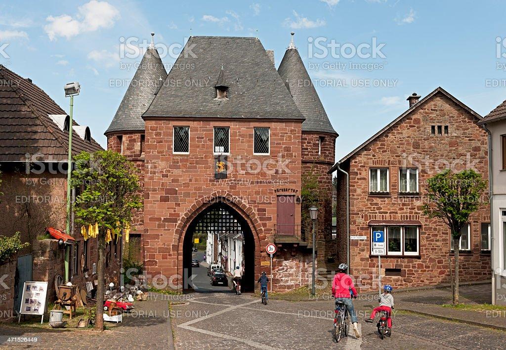 City view of Nideggen stock photo