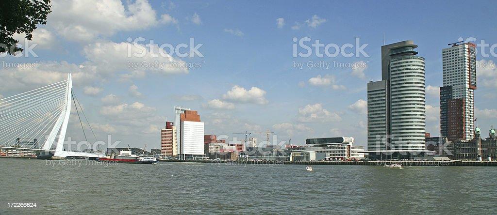 City view Rotterdam # 1 stock photo