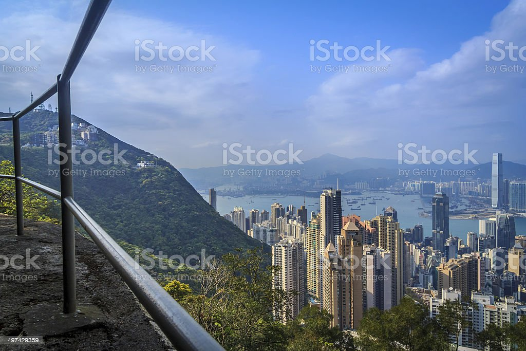 City Viewpoint stock photo