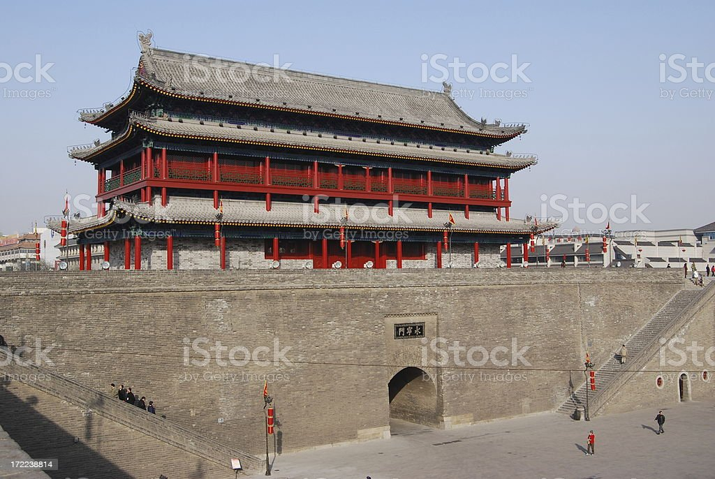 City Wall royalty-free stock photo