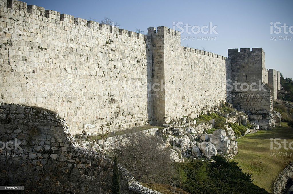 City wall royalty-free stock photo