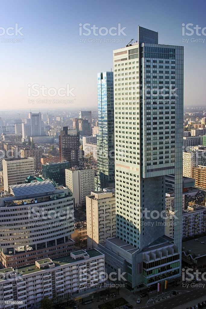 City Warsaw royalty-free stock photo