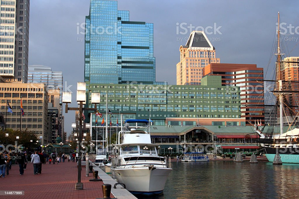 City Waterfront stock photo