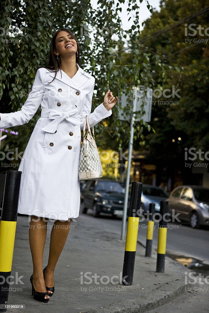 City woman royalty-free stock photo