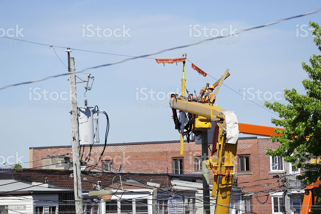 City Worker stock photo