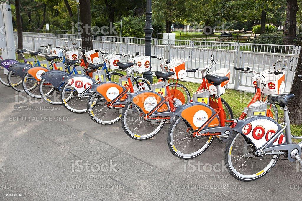 Citybike Wien royalty-free stock photo