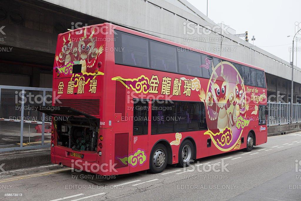Citybus Alexander Dennis Enviro 500 stock photo