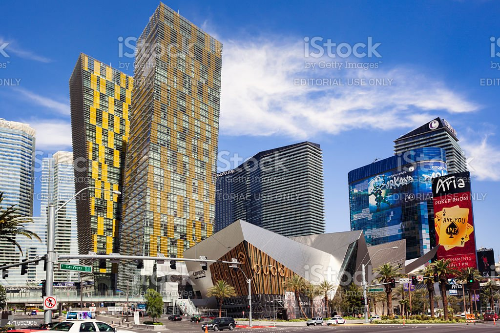 CityCenter Las Vegas stock photo