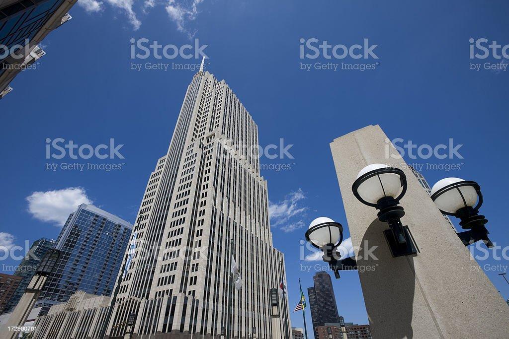 Cityfront Center Landmark Chicago stock photo
