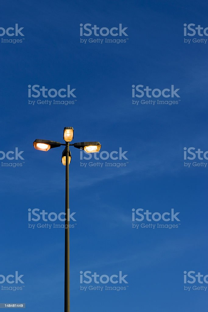 citylights | dawn royalty-free stock photo