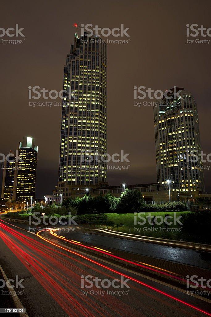 Citys Night royalty-free stock photo