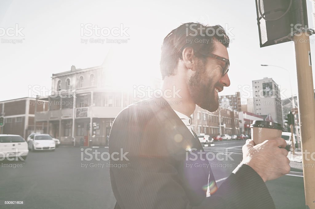 City's the place to be stock photo
