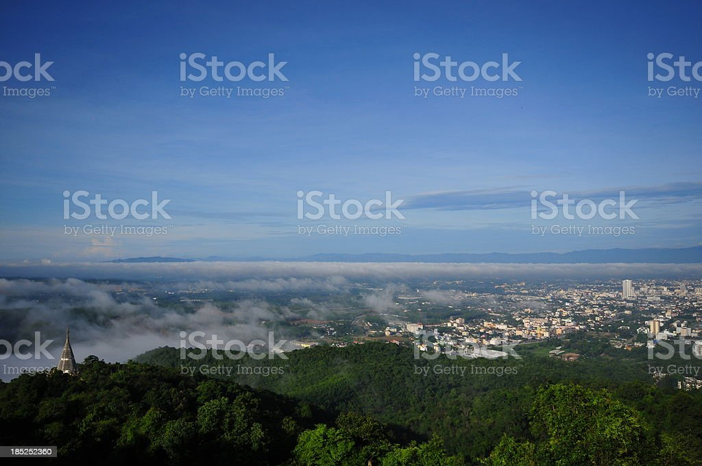 Cityscape  Aerial view of CIty stock photo