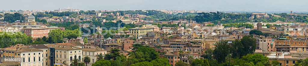 Cityscape and landmarks, Rome stock photo