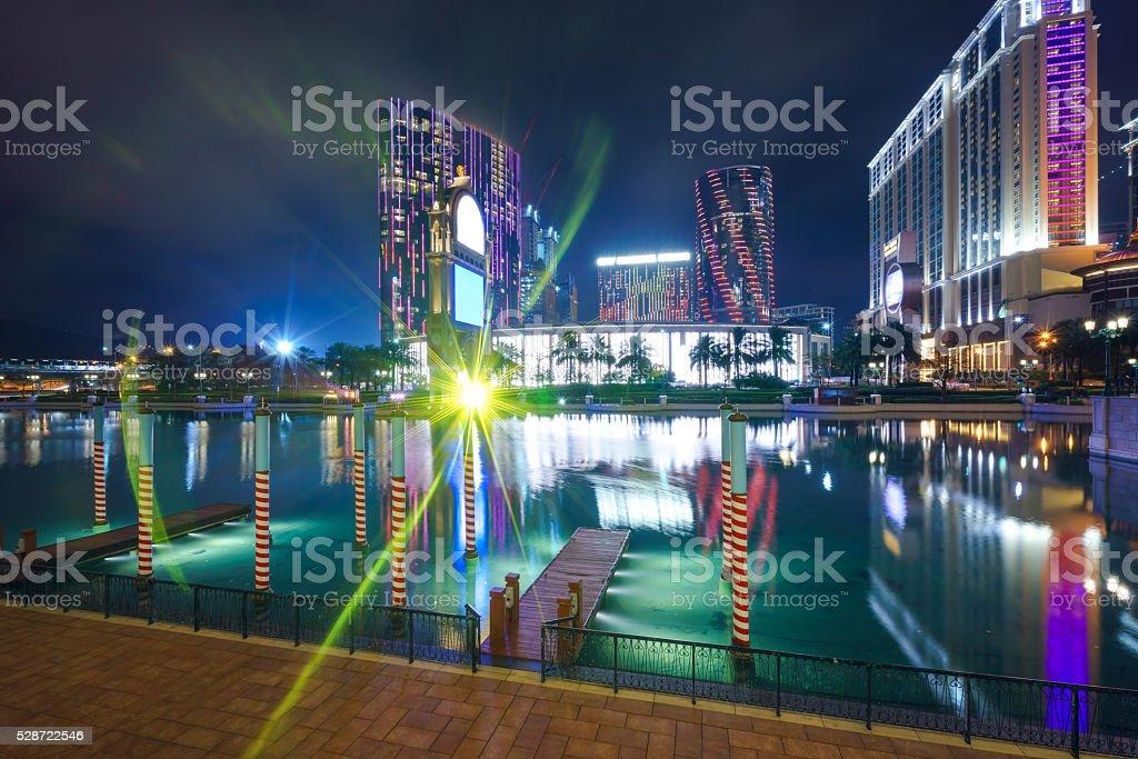 Cityscape and skyscraper of Macao, Asia stock photo