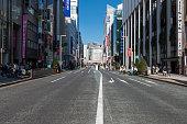 Cityscape at Tokyo Ginza