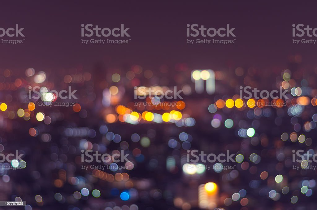 Cityscape background, Blurred Photo bokeh stock photo