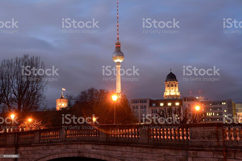 cityscape berlin stock photo