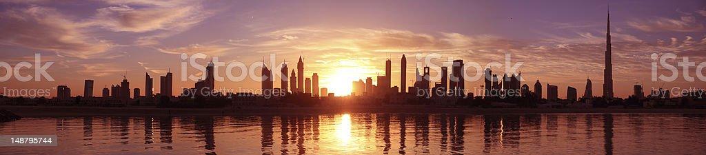 Cityscape, Dubai royalty-free stock photo