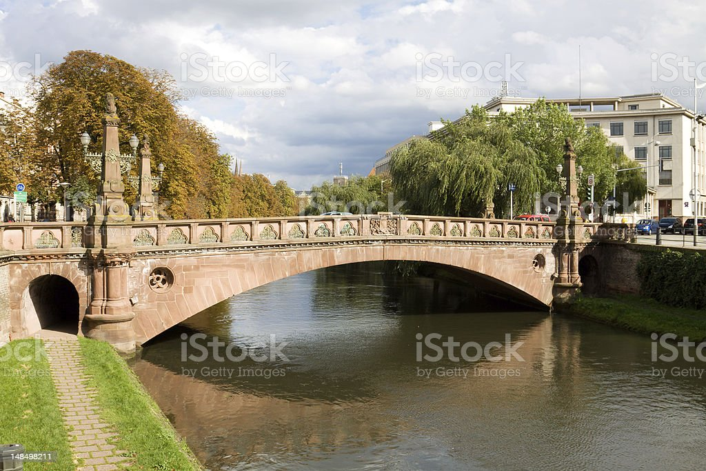 Cityscape in Strasbourg, France royalty-free stock photo