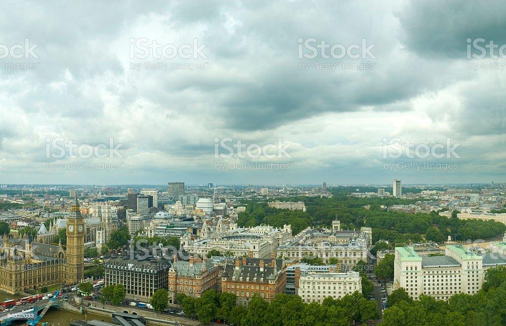 Cityscape, London royalty-free stock photo